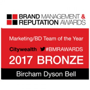 THE BRAND MANAGEMENT AND REPUTATION AWARDS 2017