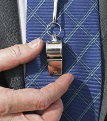 How is whistleblowing linked to unfair dismissal?